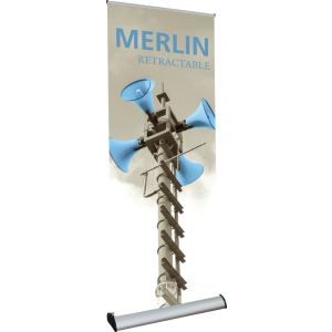 Merlin Retractable Banner Stand